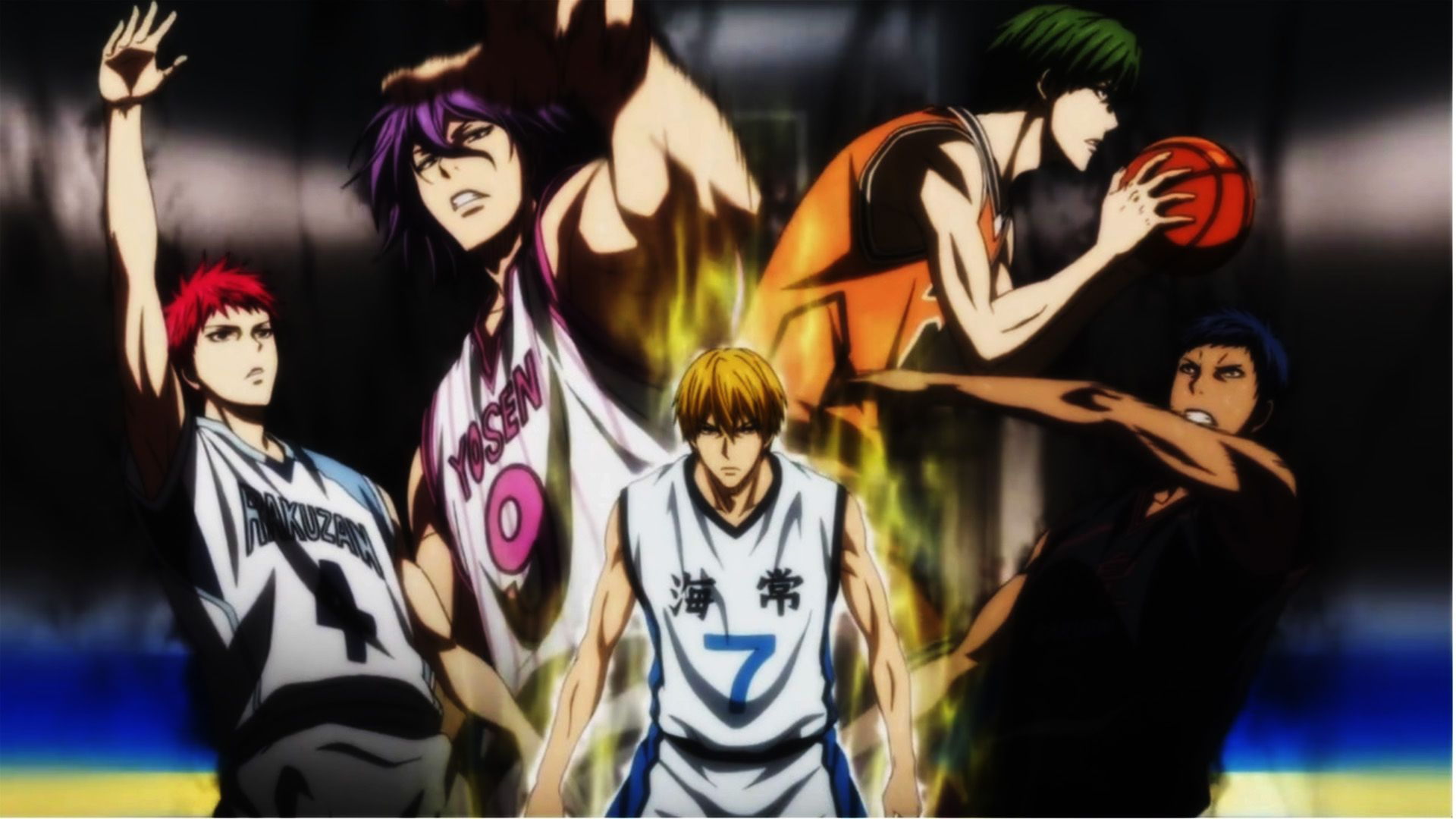 Release Dates and Titles Revealed for Kuroko's Basketball Trilogy Films
